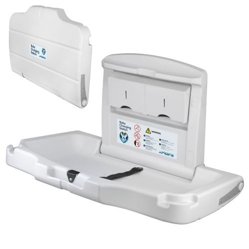 Horizontal Wall Mounted Baby Changing Table - Image1