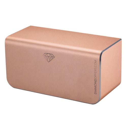 Diamond Hand Dryer | 300 Watts | Anodised Rose Gold - Image1