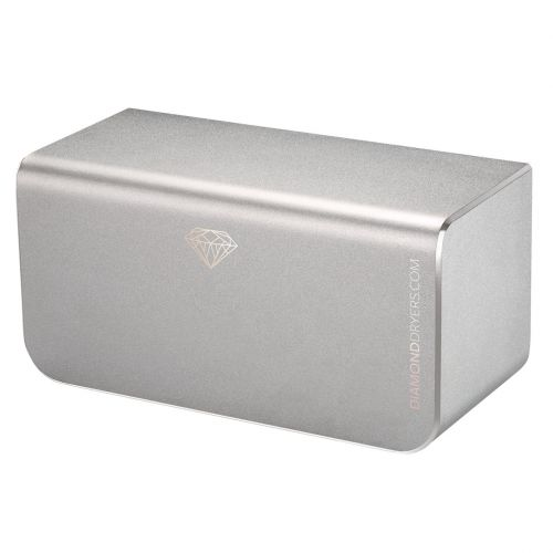 Diamond Hand Dryer | 300 Watts | Anodised Silver  - Image1