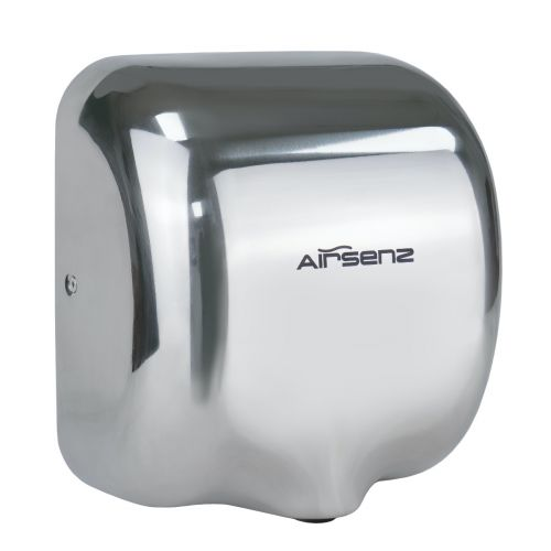 Airsenz Commercial Hand Dryer - Polished | 550-1800 watts | ECO JET High Speed - small Image