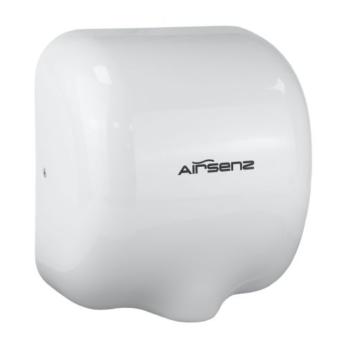 Airsenz Commercial Hand Dryer - White | 550-1800 watts | ECO JET High Speed - small Image