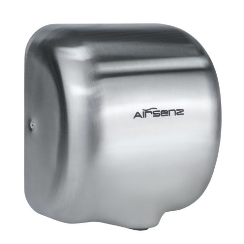 Airsenz Commercial Hand Dryer - Brushed | 550-1800 watts | ECO JET High Speed - small Image