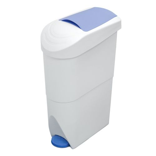 Pedal Operated Sanitary Bin   20 Litre Capacity - Image1