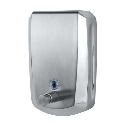 Brushed Stainless Steel Soap Dispenser | 800ml /1000ml /1200ml | Vertical - Image1
