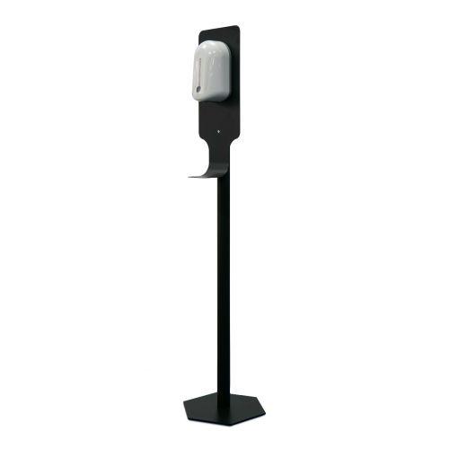 Washroom hub free standing sanitiser dispenser